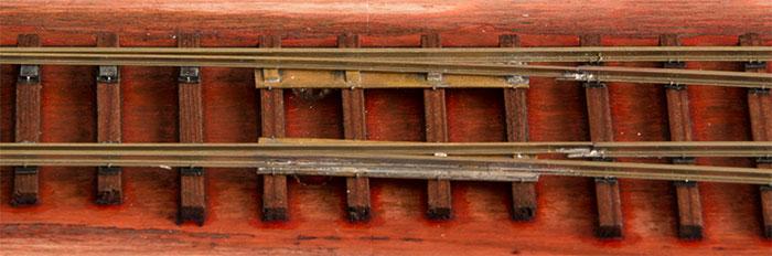 Tungeparti med langplader og glidestole