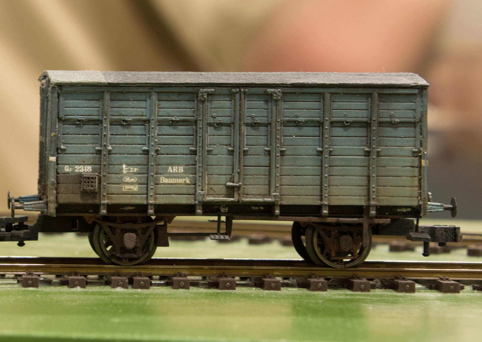 Henrik Høeghs model af AHB Qf 2318