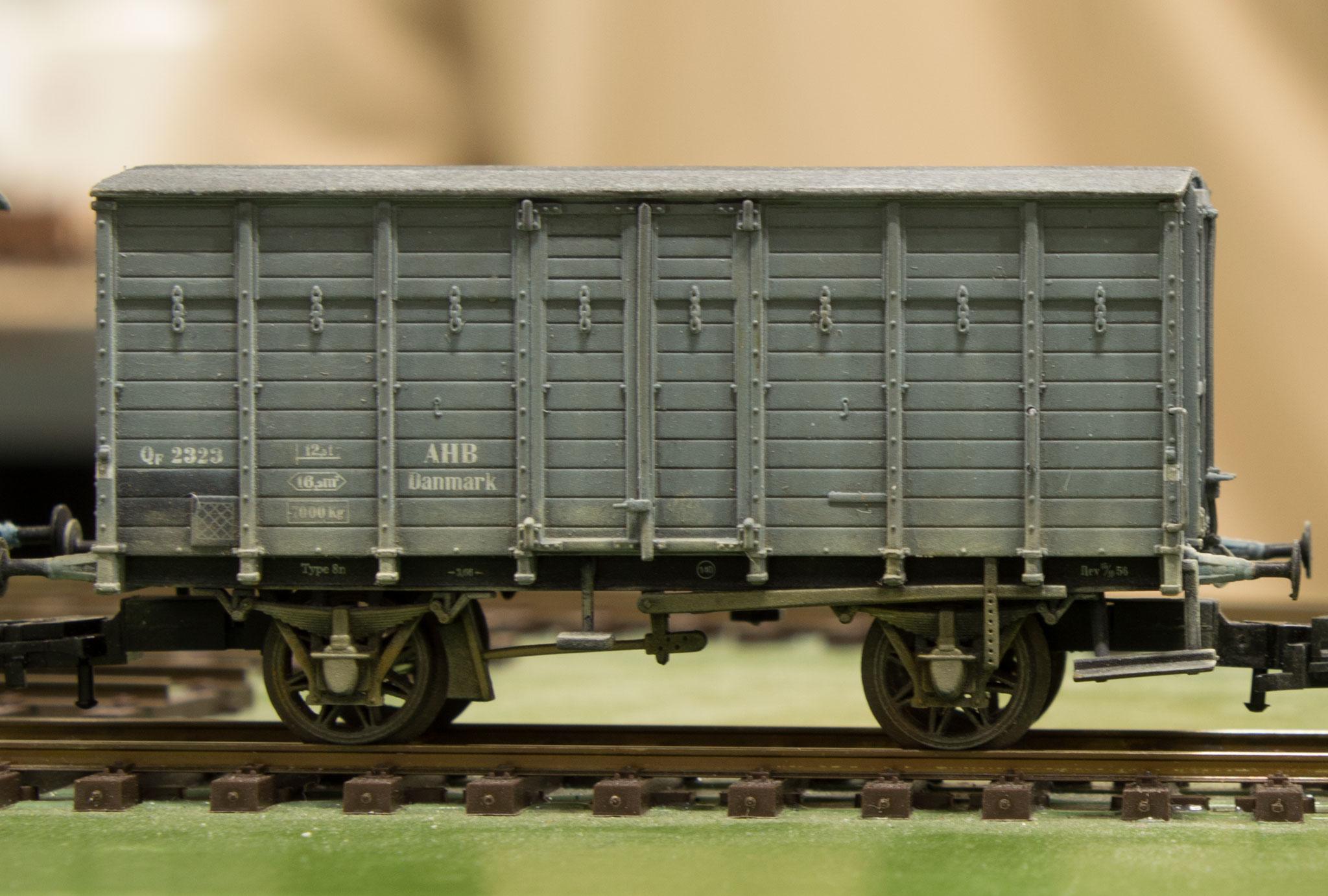 Henrik Høeghs model af AHB Qf 2323