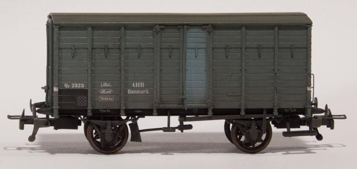 AHB Qf 2323 med RP-25 stjernehjul fra Steam Era Models