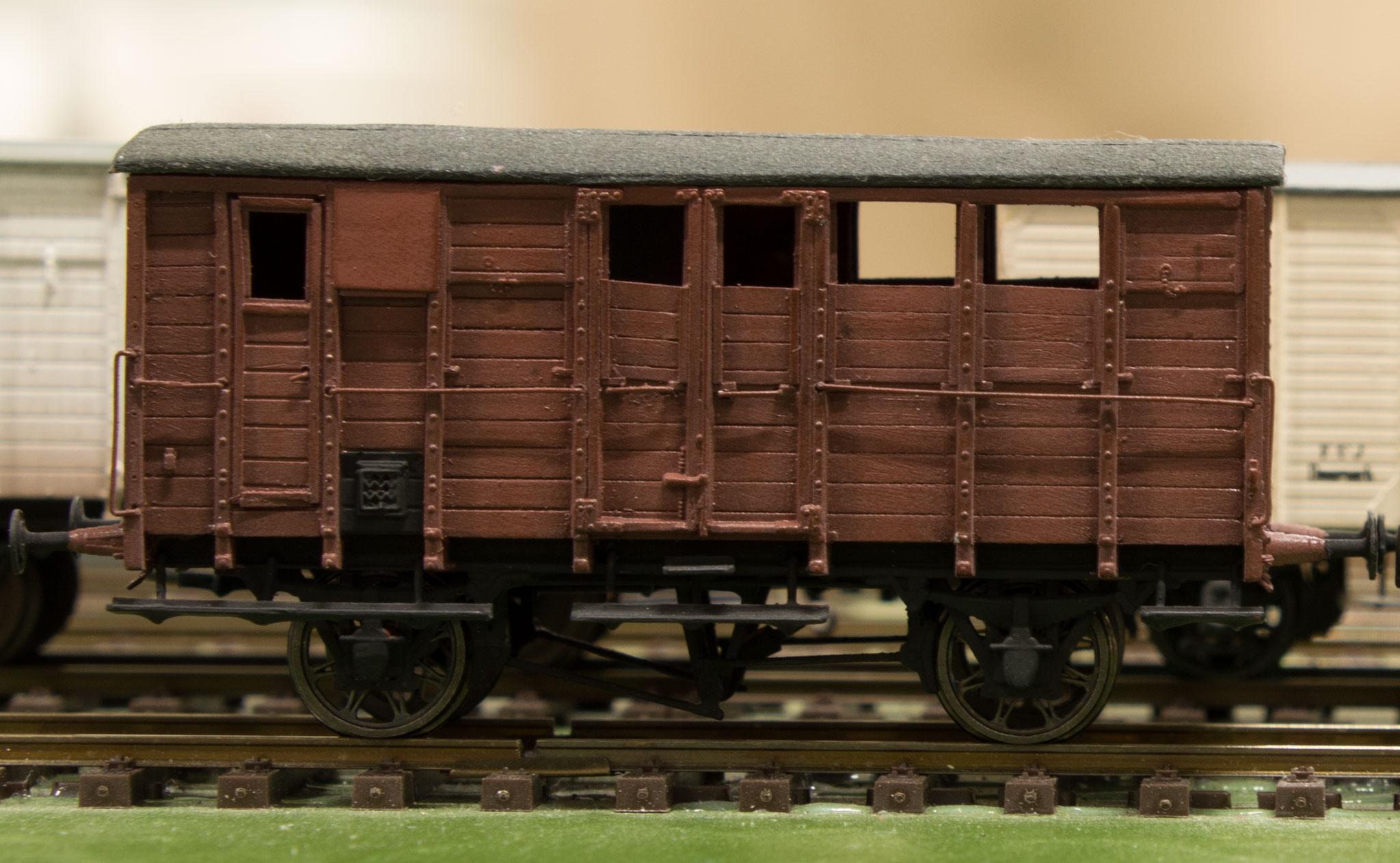 Henrik Høeghs model af DSB Hb 22481