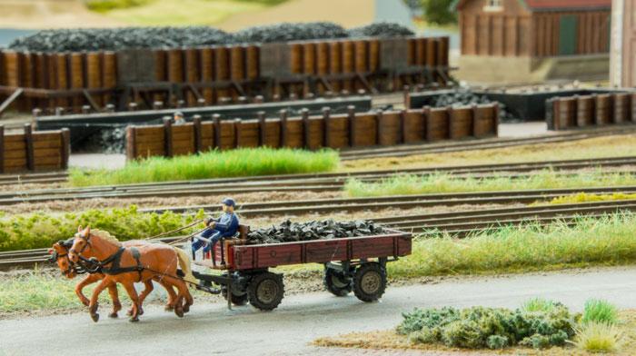 Dlefzijl - gods der køres veæk med hestevogn