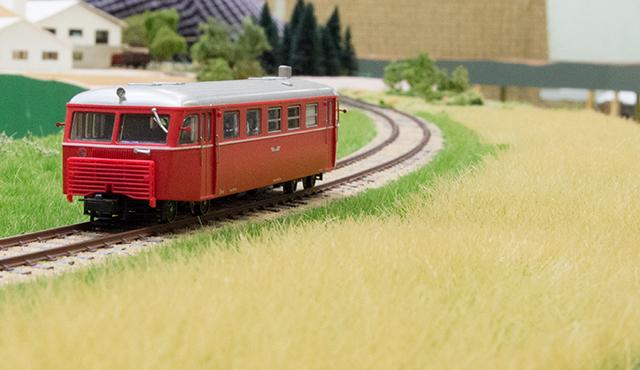 HBS Sm 212 på strækningsmodul med hvedemark