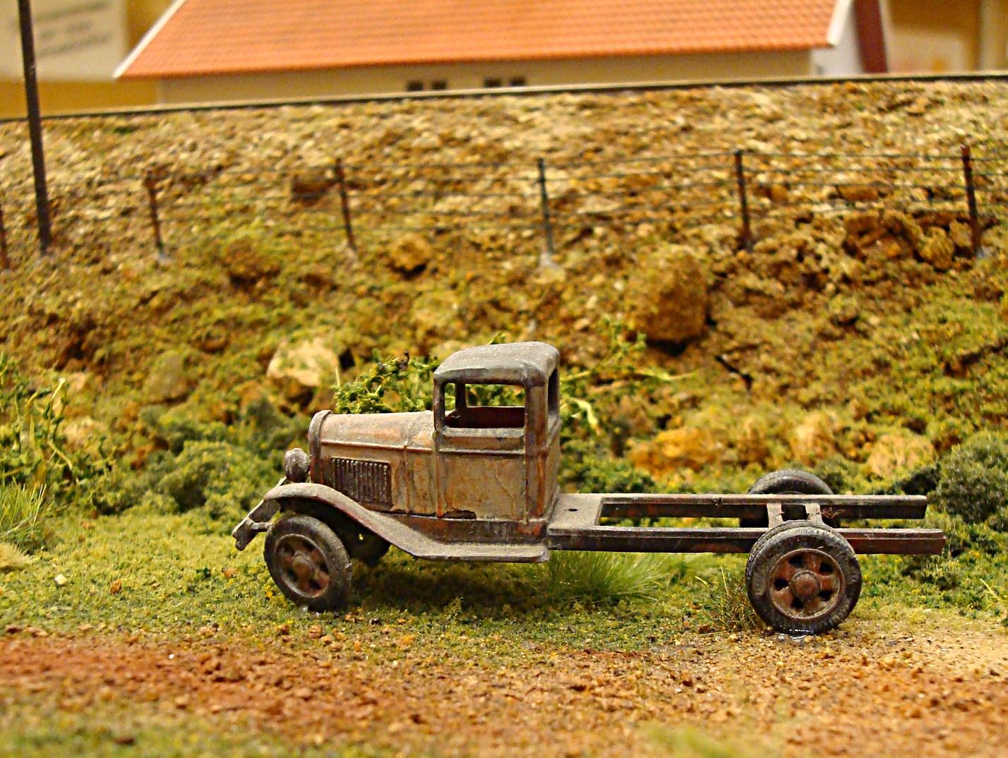 Rusten veteranbil