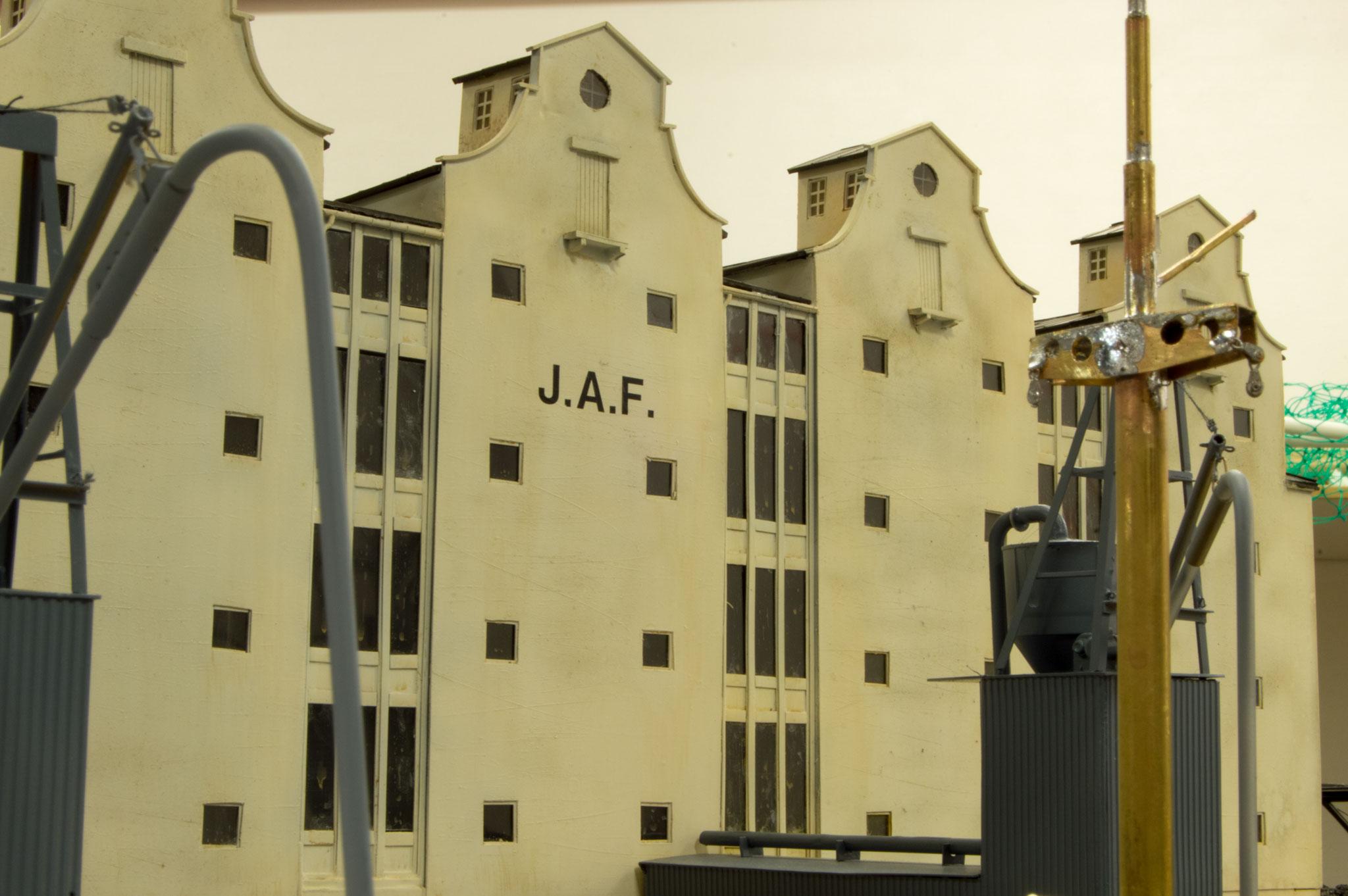 J.A.F.'s bygninger på Kattegatkaj