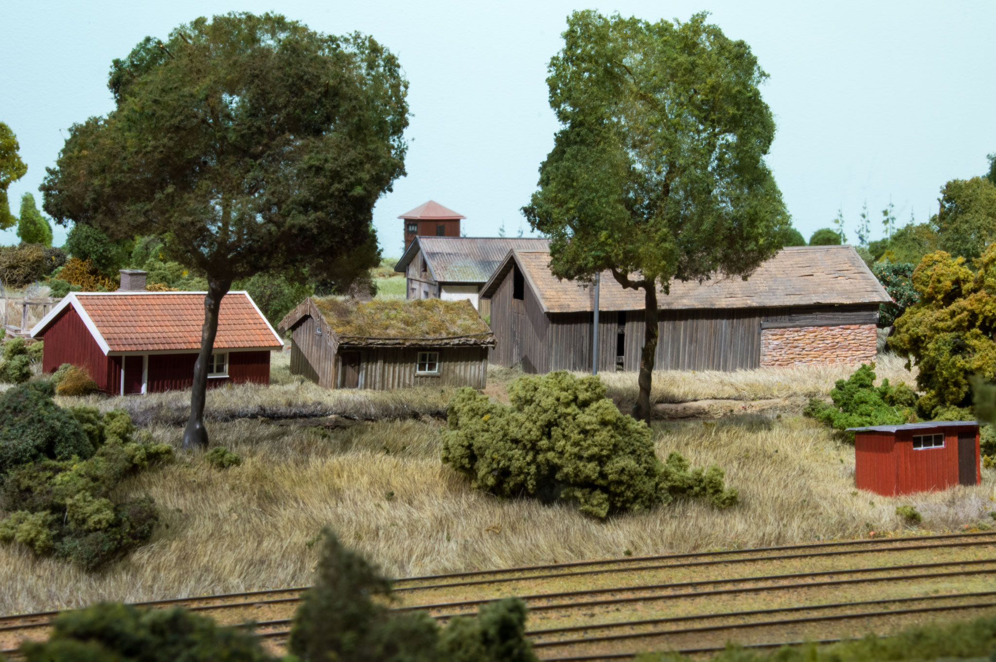 Landbrugsbygninger ved Kvarstad
