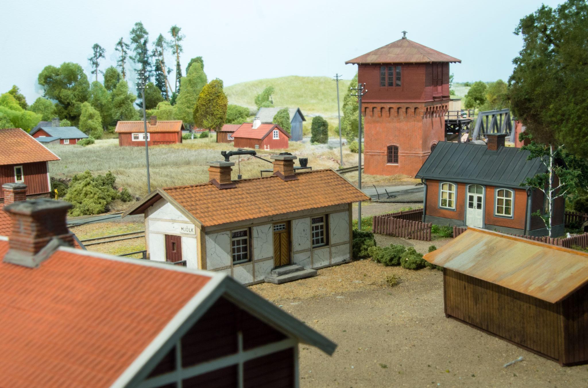 Remiseområdet i Kvarstad