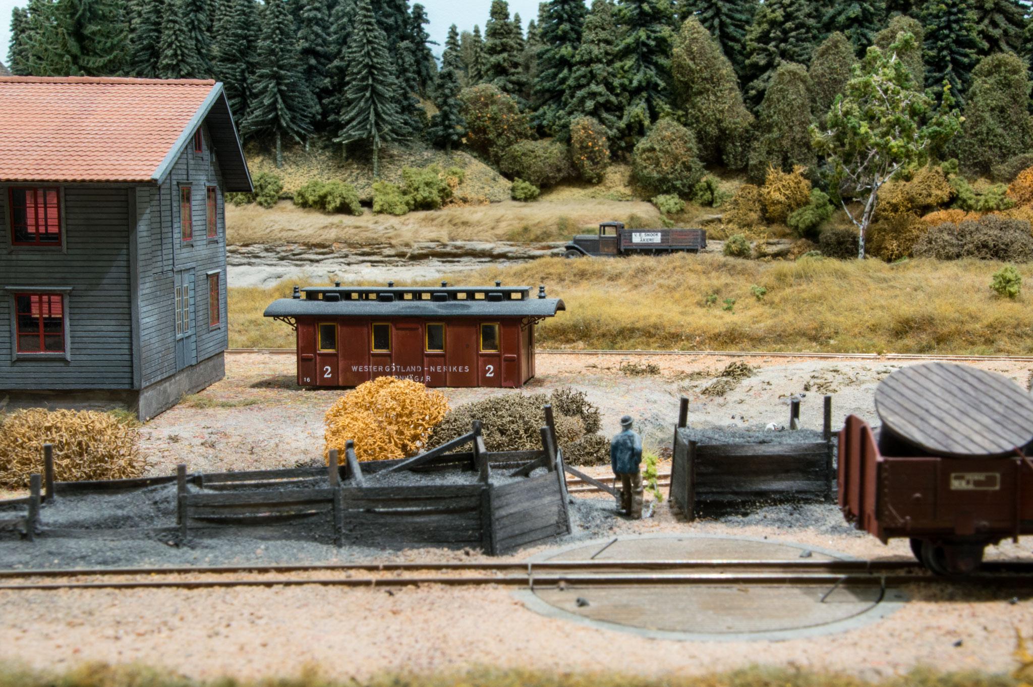 Remisemiljø i Kvarstad med kullager og drejeskive