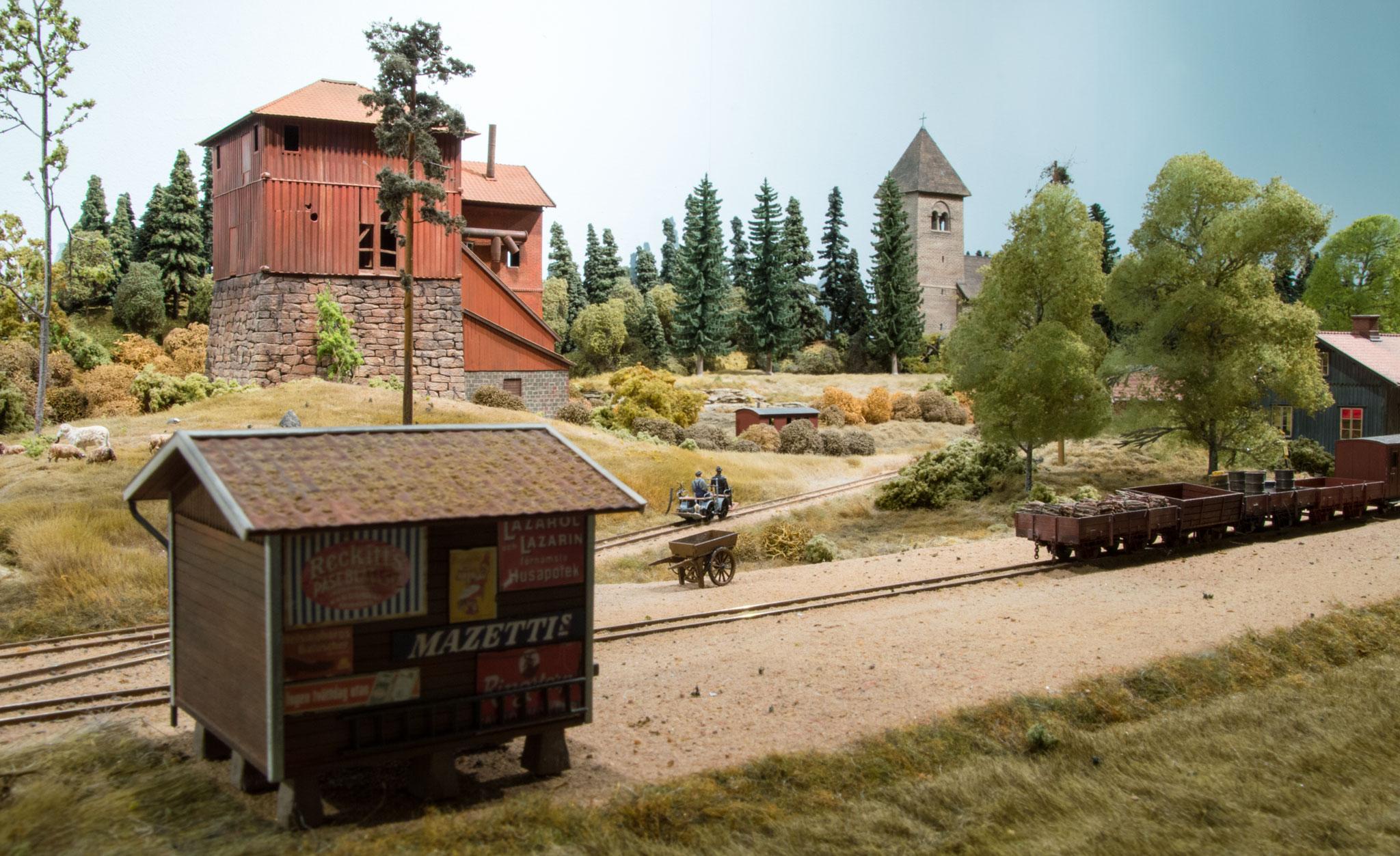 Upsiöö stationsmiljø