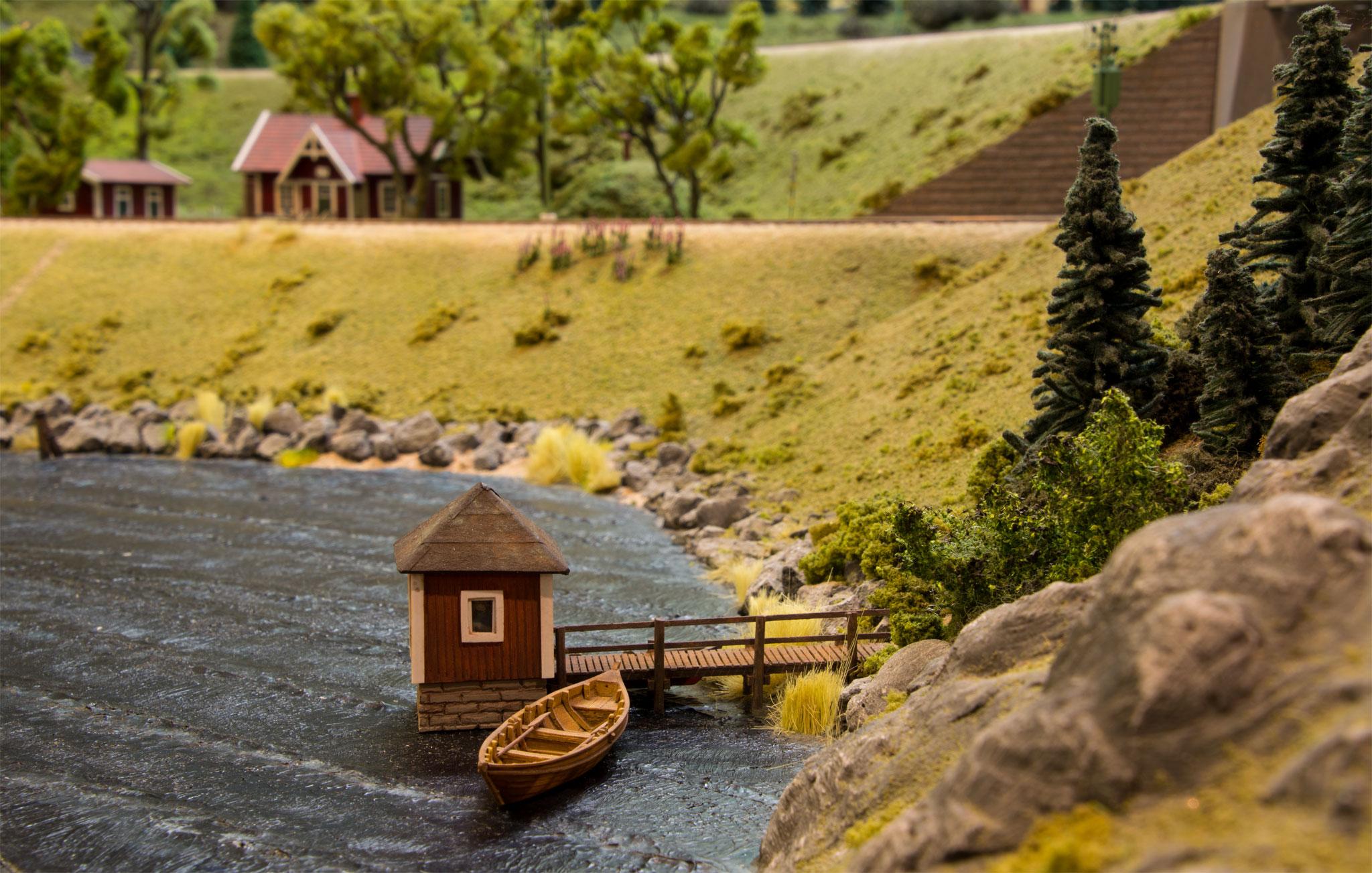 Pumpehus (Forbilledet er fra Åmål-Årjängs Järnväg)