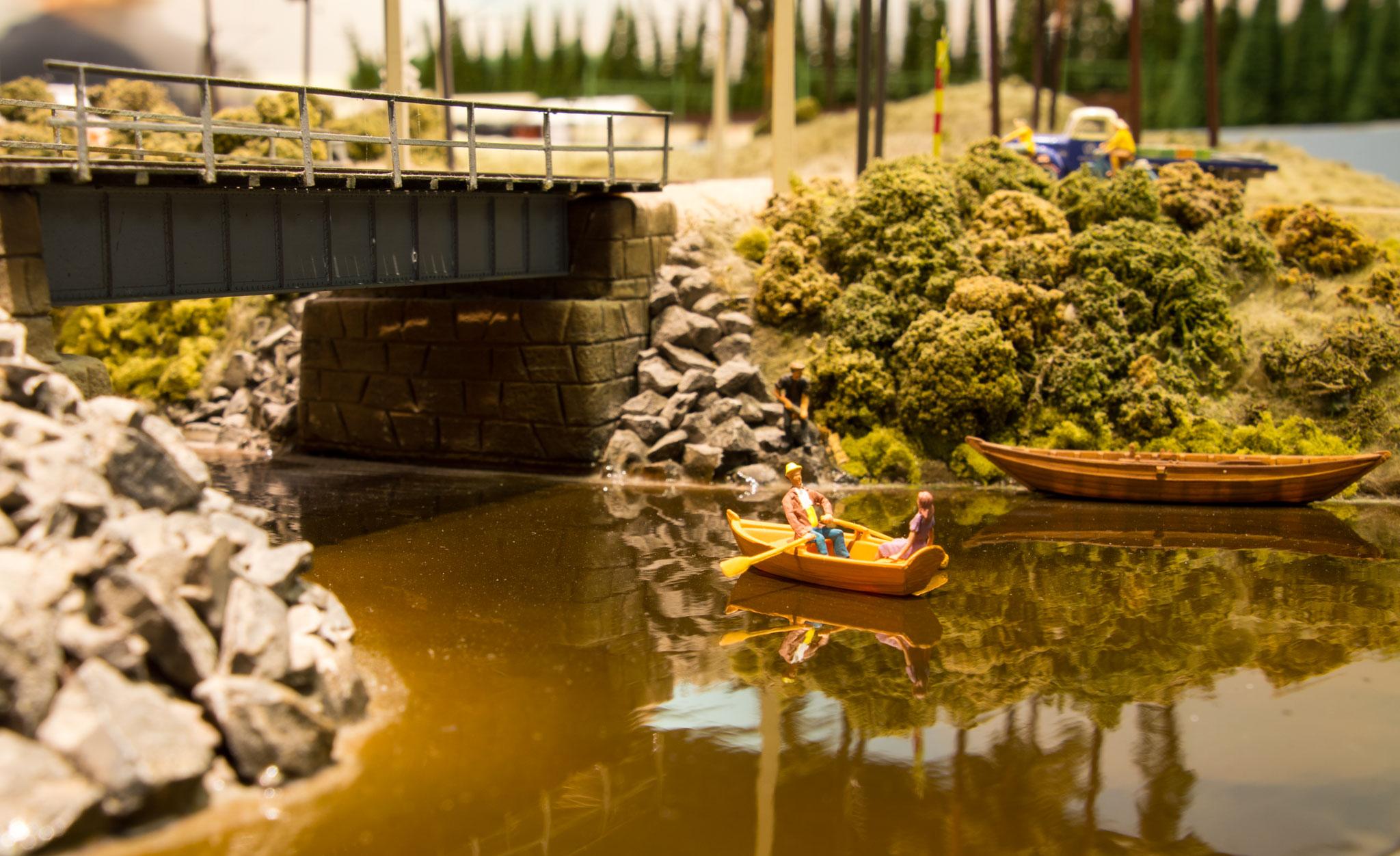 Stille flyder åen - bro ved Bredfors