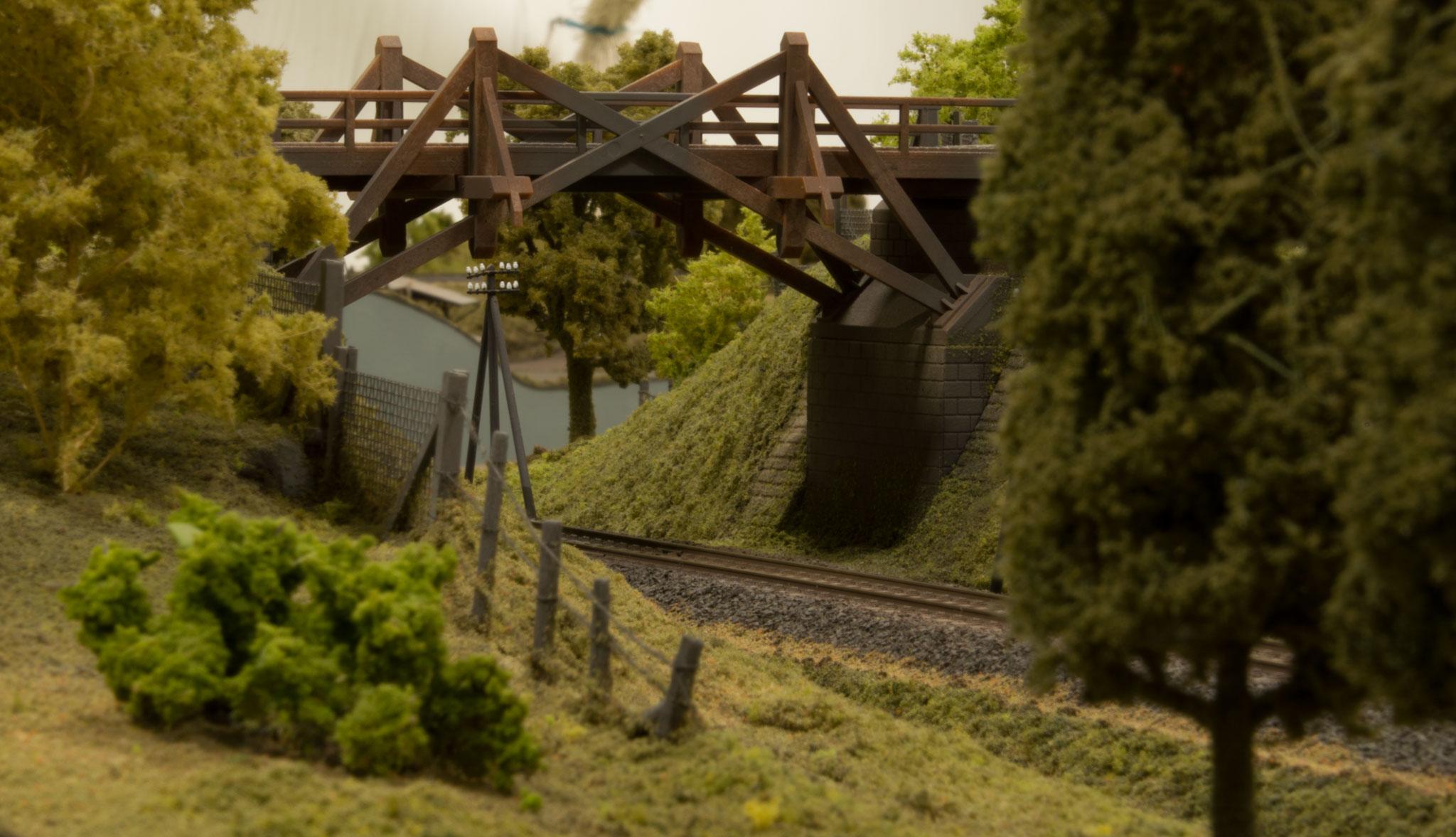Bro på den tyske strækning