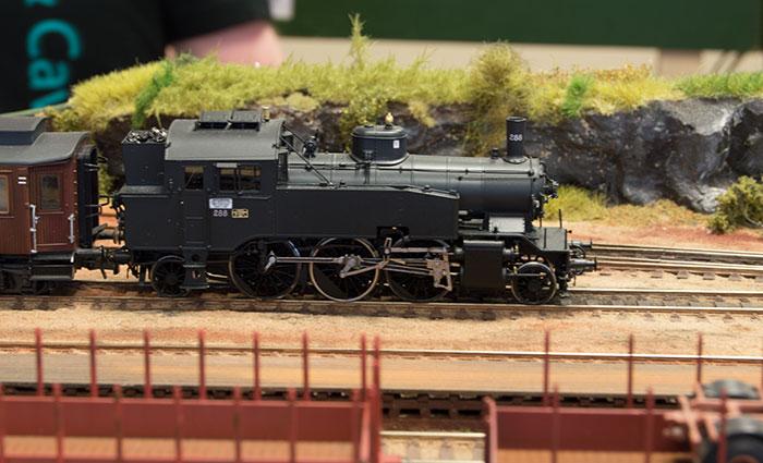 NMJ-model af norsk damplokomotiv