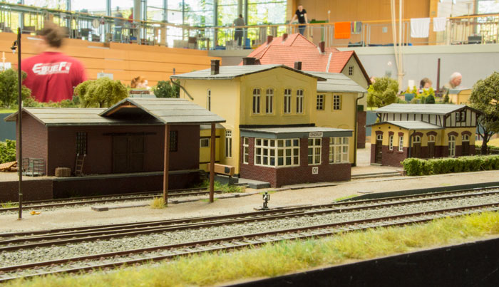 Stationsbygningen i Ondrup