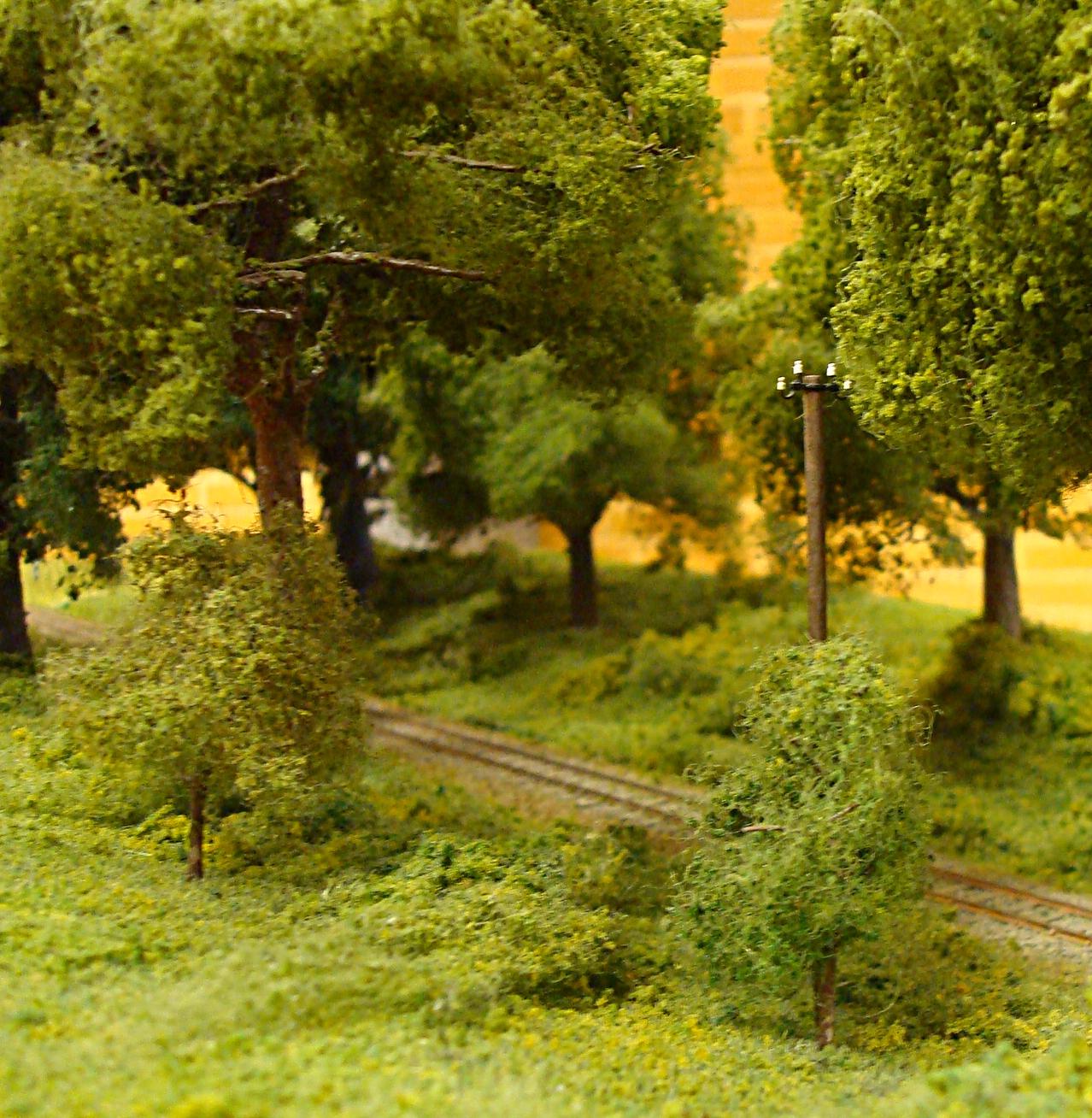 Skovparti på smalsporsmodul