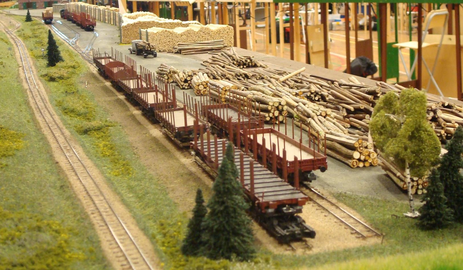 Smalsporsbanens savværksmoduler