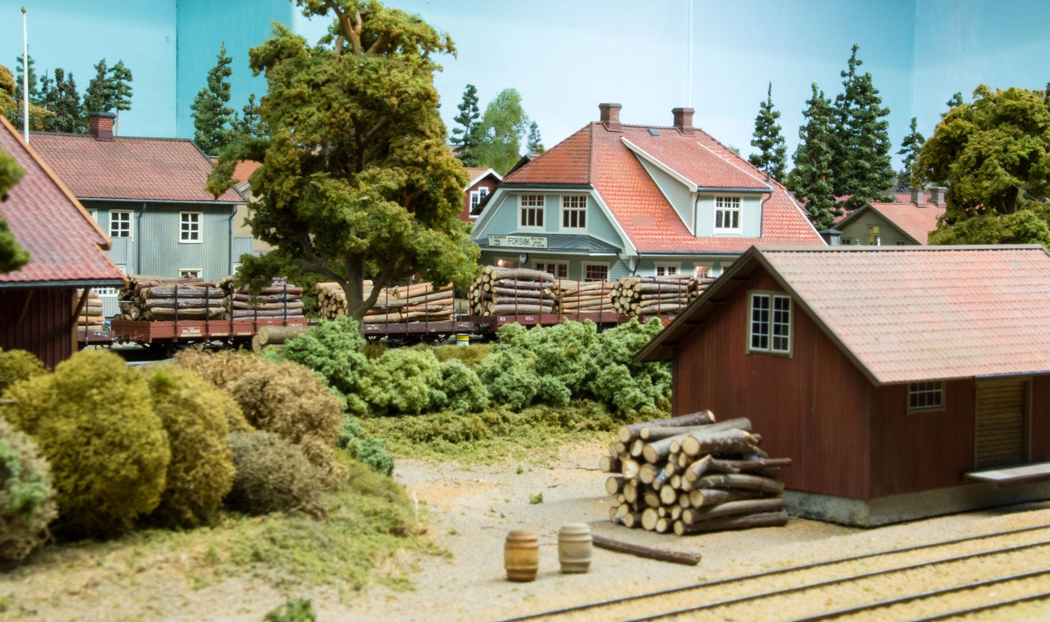 Stationsmiljø i Forsvik