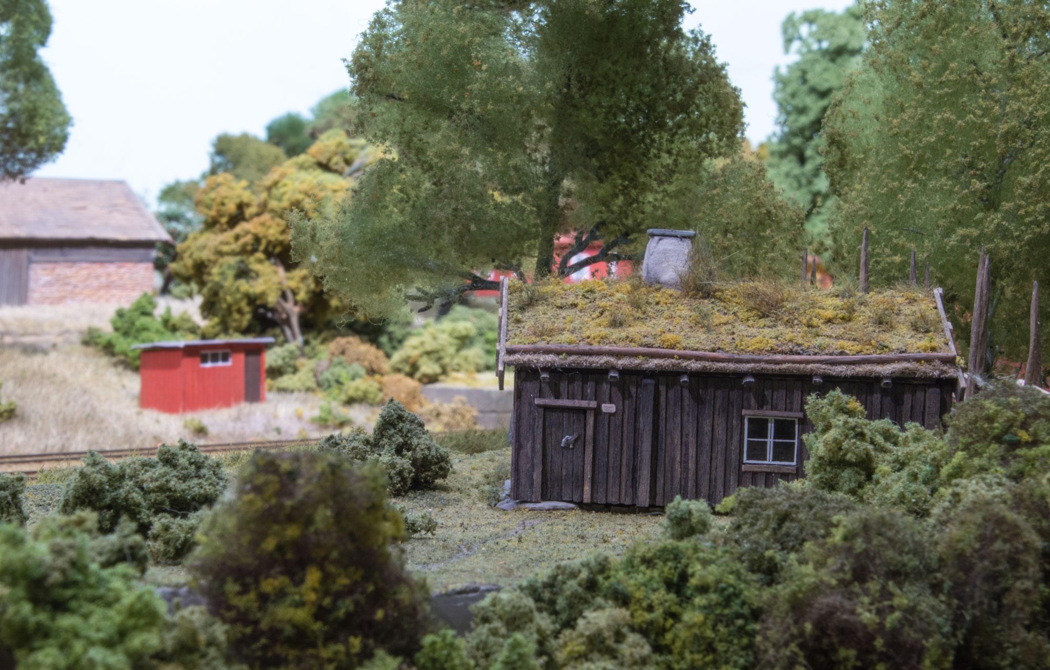 Simpel hytte udenfor Kvarstad