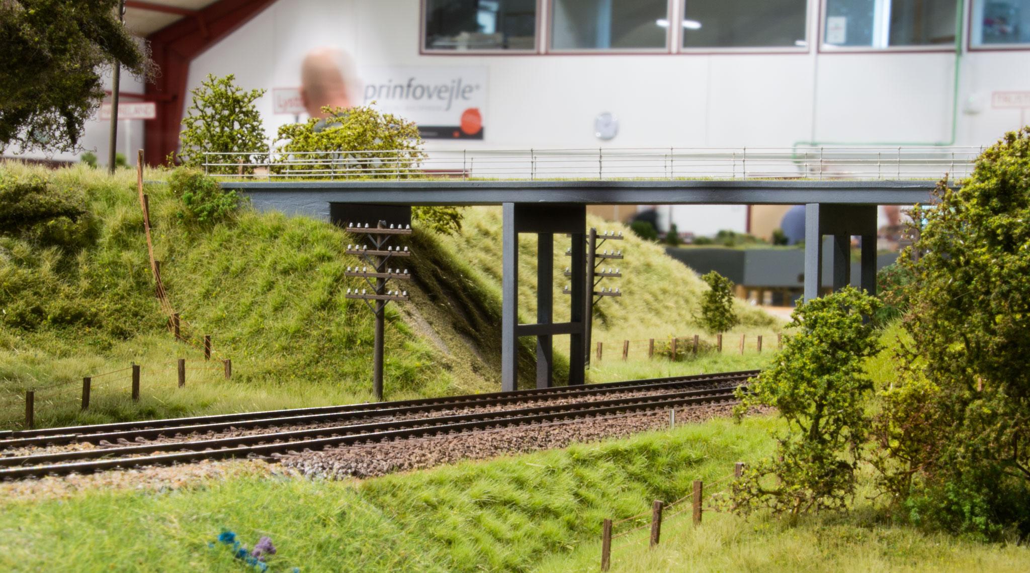 Kollerupbroen - et nyt modul fra Torben Muncks hånd