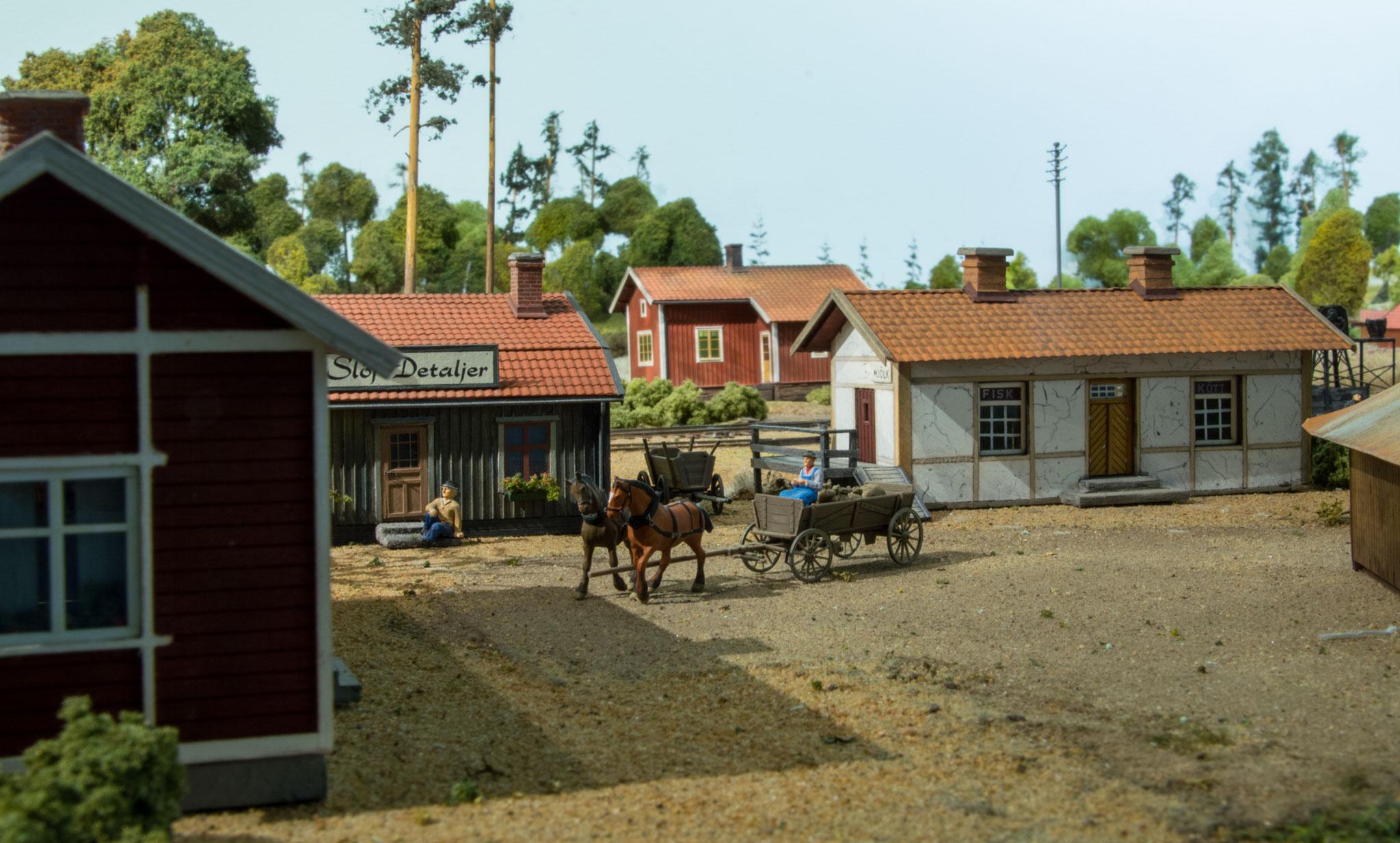 Skrædderforretning i Kvarstad