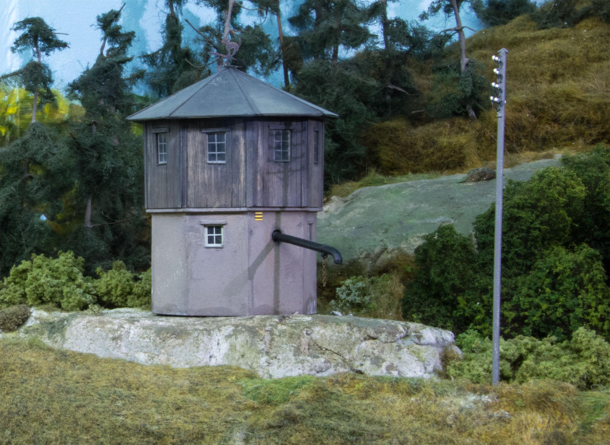 Vandtårnet ved Ockhult trinbræt